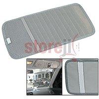 Speedwav Car Cd Visor Holder Dvd Storage Organiser Bag (Grey)