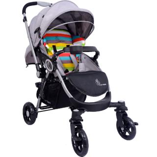 Pram - Stroller - Chocolate Ride (Rainbow)- The Designer Pram from R for Rabbit