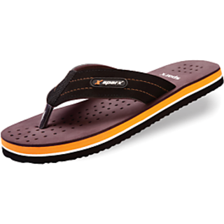 Sparx Brown Black Flip-flop