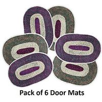 Sweet Home Pack Of 6 Door Mats - Hc06