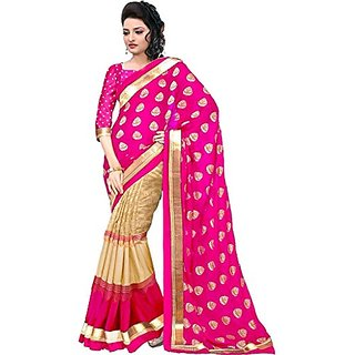 Royal Fashion Multicoloured Bhagalpuri Silk Saree
