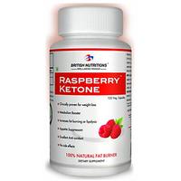 British Nutritions Raspberry Ketone - 120 Veg Capsules