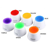 Callmate Mini Foldable Portable Suction Holder Speaker  - Multicolor