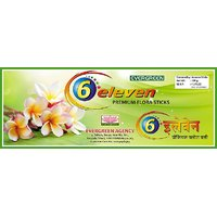6-eleven Premium Flora Sticks Masala Agarbatti 100gm*5pc