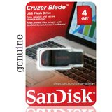 Buy Online Original Sandisk 4GB Cruzer Blade USB Flash Drive
