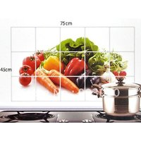 Kitchen Wall Cover Stickers Water Proof, Oil Proof And Hot Proof (Random Design)