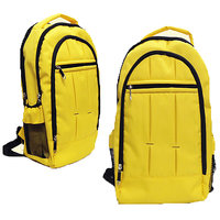 Caris Outstanding Yellow Back Pack Bag