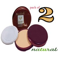 Pack of two- Neckline Oil Control Compact Powder -CLN_125-346