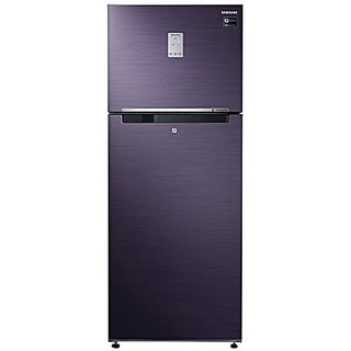 Samsung RT47K6238UT/TL Frost Free Freezer-on-Top Free-Standing Refrigerator (465 Ltrs, 3 Star Rating, Pebble Blue)