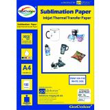 GoColor A4/100 Sheets Sublimation Paper With 90%+ Transfer Rate