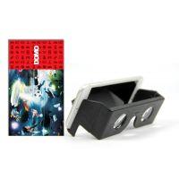 DOMO nHance VRF1 3D Video VR Headset for SmartPhones Inspi by Google Cardboard - Black
