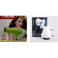 Combo Of Professional Hair Dryer -2000W  Professional Hairdryer WithdualFunction