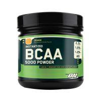 Optimum Nutrition Instantized Bcaa 5000 Powder - 380 G (Orange Flavour)