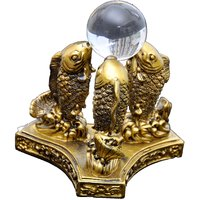 Fang Shui / Vastu Three Fish For Good Luck,wealth And Good Future