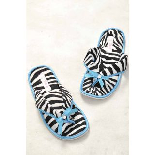 Hi Fashion Blue Cotton Flip Flops Diomand With Soft Touch...