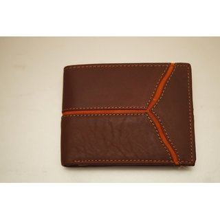 High Quality Genuine Leather Wallet Purse for Men Gents with Card Slots