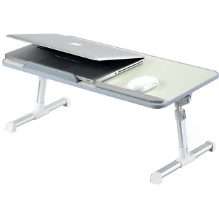 Portonics My Buddy + POR 704 Laptop Cooling Table (Grey)