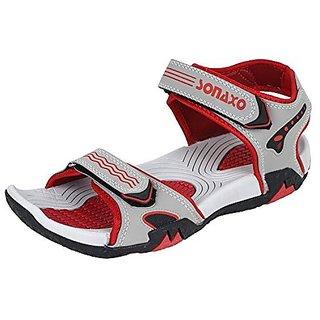 Earton Men Red,Gray Velcro Floaters