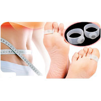 Slimming Silicone Magnetic Toe Ring Foot Massage Fat Weight Loss Health Massager