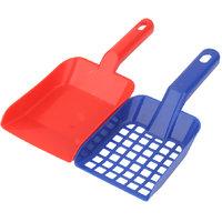 Magideal 1 Set Plastic Cat Pet Animal Litter Tray Poop Sieve & Scoop Scooper Shovel