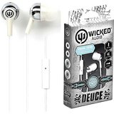 Wicked Deuce Wi-1858 Headphone With Mic (White)