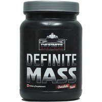 Definite Mass 2.2 Lbs(1Kg) Chocolate Flavor - Definite Nutrition