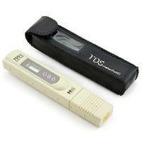 Pocket Digital TDS Meter + Carry Case - RO Filter Purifier Water Quality Tester