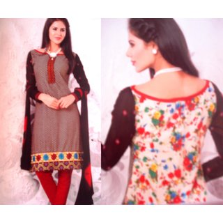 Designer Cotton Casual Wear Dress Material
