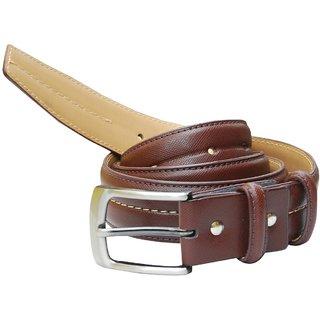 Hidea Mens Stylish Leather Belt -- Tan