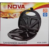 New Nova 2 Slice Sandwich Maker/Toaster