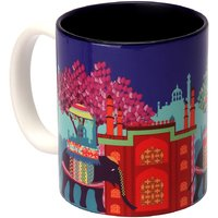 Ceramic Mug Elephant Savari