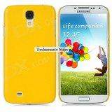 Samsung Galaxy S IV Hard Back Case Yellow Color Hard Case