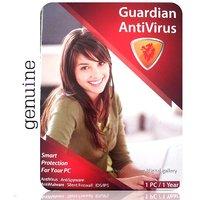 Buy Online Guardian AntiVirus 2013 1 PC 1 Year