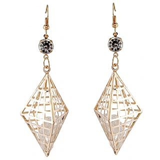 9blings Gold Alloy Gold Plated Drops For Women