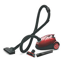 Eureka Forbes Quick Clean DX Dry Vacuum Cleaner (Red  Black)
