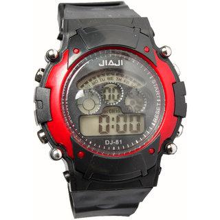 Digital wrist watches for men
