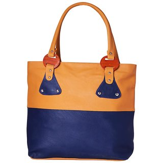 Kreative Women Bags Cb01164Blue.Cream