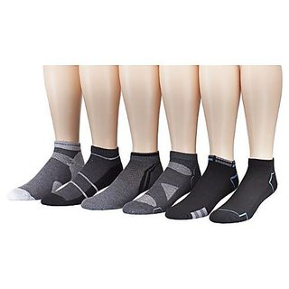 12 Pack Low Cut Athletic Socks for Mens
