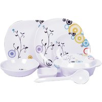 Diamond Crockery 33 Pcs Dinner Set - Royal Abstract