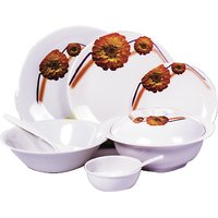 Diamond Crockery 33 Pcs Dinner Set - Lexus Marigold