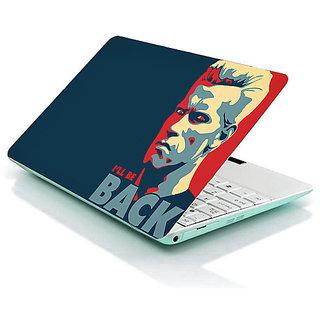 "I Am Back ""Arnold Schwarzenegger"" Laptop Skin"