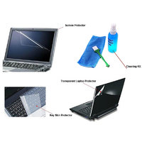 "Callmate4in1Screen Protector-Sticker-Key Skinwith Cleaning Kit For 14.6"" Laptops"