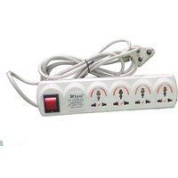 RIYO Power Strip  Extension Cord 4 Way (use Coupon SCCUD75C)