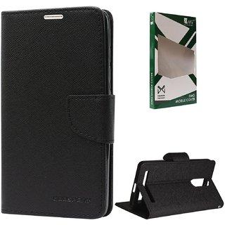 Mobimon Full Protection Mercury Diary Case Flip Cover For Micromax Bolt Q335