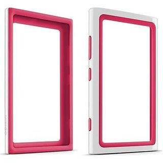Belkin Surround Dual Layer Bumper Case for Nokia Lumia 920 - Fitted Case - Retail Packaging - White/Pink