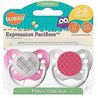 Ulubulu Girls Pacifiers