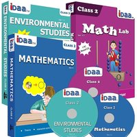 Class 2-Mathematics, EVS & Maths Activity Combo CDs-IDaa