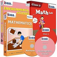 Class 3-Mathematics, EVS & Maths Activity Combo CDs-IDaa