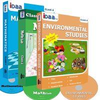 Class 4-Mathematics, EVS & Maths Activity Combo CDs-IDaa