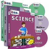 Class 6-Mathematics, EVS & Maths Activity Combo CDs-IDaa